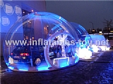 Inflatable Clear PVC Dome Tent for Outdoor Car Show Advertising TY-013