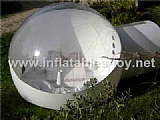 half transparent inflatable dome tent for lawn camping and sight-seeing TY-012