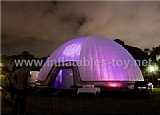 Inflatable lighting wedding igloo dome tent TY-2005