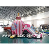 3n1 Inflatable Bouncy Castle Carriage Horse,BC-4