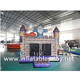 Wizard Inflatable Bouncer House,BC-12