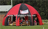 Custom Inflatable  Spider Dome Tent for Sports Cover