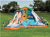 Banzai Aqua Adventure Water Park Inflatable Bouncer,KB-1007