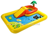 Kids Inflatable Water Park with Slide,KB-1019