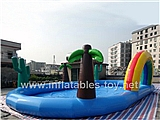 Palm Tree Inflatable Water Park,KB-1020