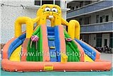 Inflatable SpongeBob Water Combo with Slide,KB-1025