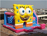 SpongeBob  Inflatable Bounce House,KB-1012