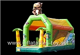 Inflatable Jungle Bouncy Castle Combo,BC-111