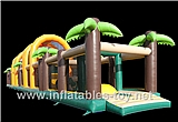 Inflatable Jungle Obstacle Course,OBS-114
