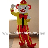 Adult Clown Mascot Costume