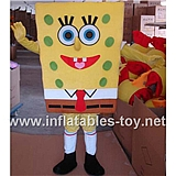 Cheap Spongebob Mascot Costume for Sale