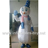 High Quality Snowman Mascot Costumes Christmas
