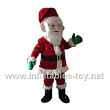 Santa Claus Suit with Wig Christmas Costume