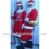 Christmas Santa Claus Costume Cartoon Character