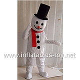 Snowman Mascot Silly Christmas Costumes