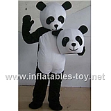 Poppy Plush Adult Panda Costume