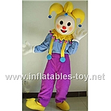 Clown Mascot Costume Cartoon