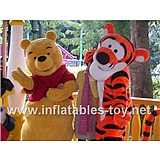 Winnie and Tiger Mascot Costume