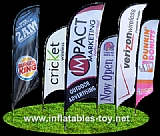 Hoting Sales Banners and Flags for Promotional