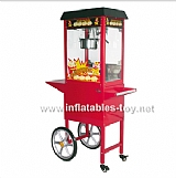Popcorn Machine with Popcorn Machine Cart