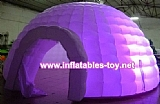 Inflatable Lighting Igloo Dome Exhibition Party Wedding Tent
