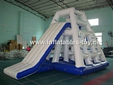 Inflatable tower slide,water slide AT-1025