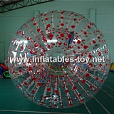 Color Dots Zorb ball