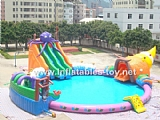 Inflatable water park AT-1023