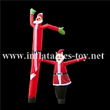 Inflatable Advertising Santa claus Air Dancer,SKY-08
