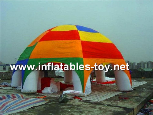 6m diamaters inflatable spider tent TENT-1022