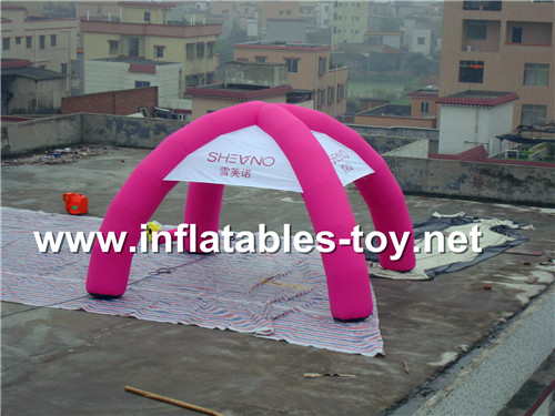Advertising spider dome tent with digital printing TENT-1009