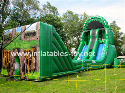 Inflatable Zip-Line sports games,SPO-96