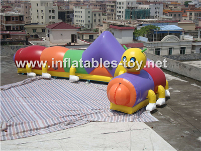 Large Inflatable Train Tunnel Obstacle,OBS-112