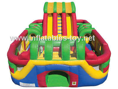 Inflatable Obstacle playground,OBS-111