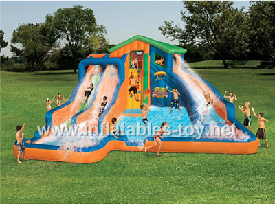 Inflatable water slide,Waterslide-5