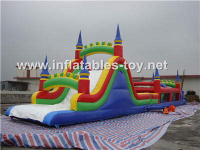 Inflatable obstacle course,OBS-108