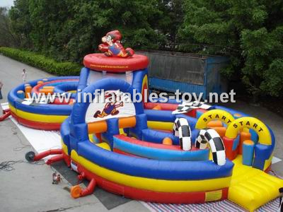 Number 8 Inflatable Obstacle Playground,OBS-105
