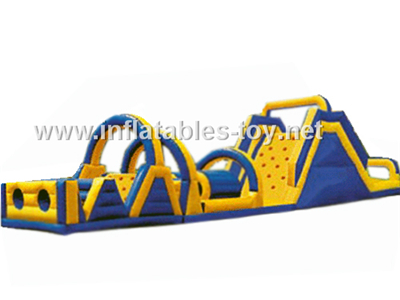 Adult/Kids Camping Competitive Military Inflatable Obstacle Course,OBS-103