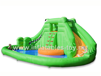 cheap inflatable splash water slide for commercial inflatable rental,Waterslide-3