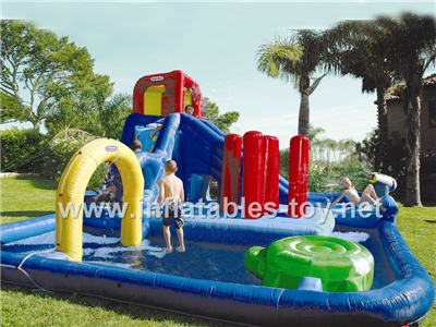 Inflatable water slide,Waterslide-2
