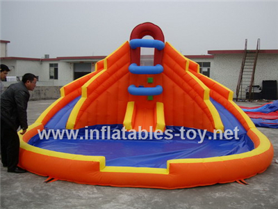 Inflatable water slide with pool for kids,Waterslide-1