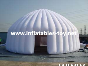 White Inflatable Party Tent Dome for Family Camping
