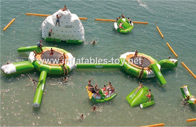 inflatable water park,aqua park inflatable AT-1009