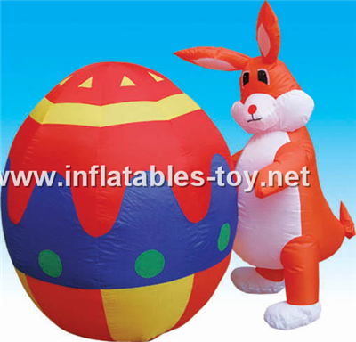Easter holiday inflatable,CHR-1014