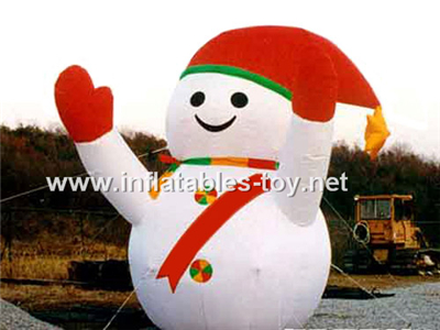 Giant inflatable blow up snowman outdoor decoration,CHR-1005