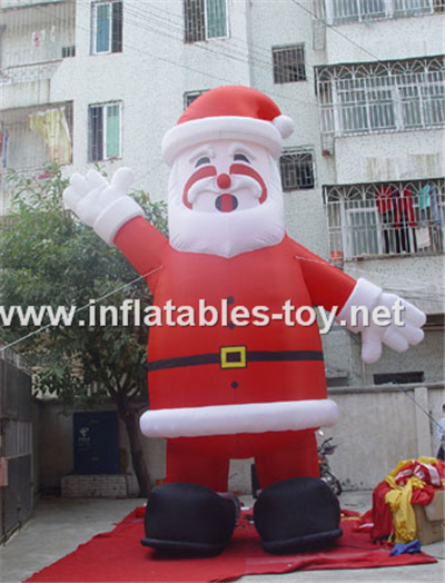 Santa claus for christmas inflatable decoration,CHR-1002