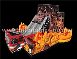 5 in 1 Inflatable Fire Rescue Truck