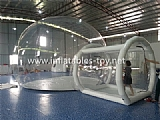 Clear PVC Outdoor Camping Dome Tent TY-017