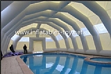 Airsealed Inflatable Pool Dome Tent