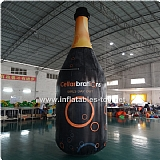 Inflatable Red Wine Bottle